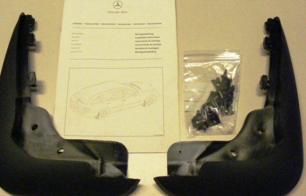 Брызговики задние для Mercedes-Benz W211