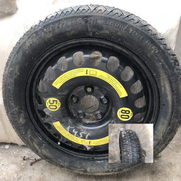 Докатка (неполноразмерное запасное колесо) Мерседес W211 W219