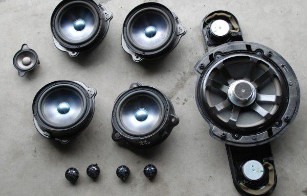 Акустическая система Harman Kardon Mercedes-Benz W211