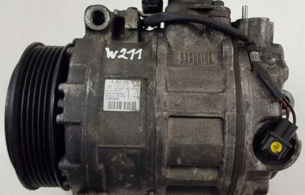 Компрессор кондиционера Mercedes-Benz W211