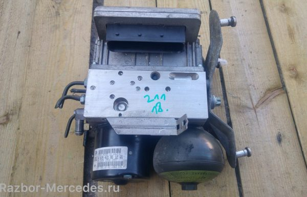 Блок SBC ABS A0054318012 Mercedes-Benz W211