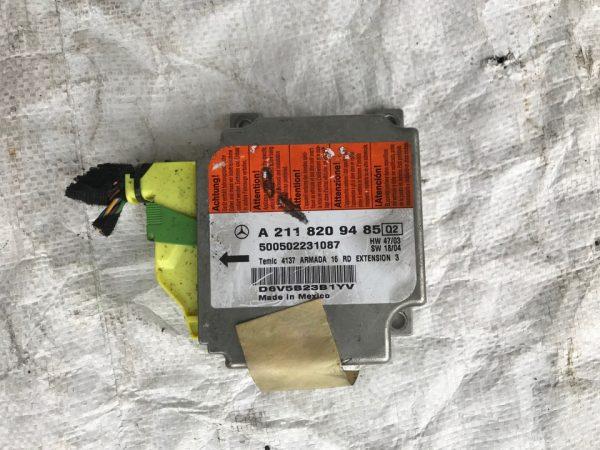 Блок SRS AIRBAG Mercedes W211 A2118209485