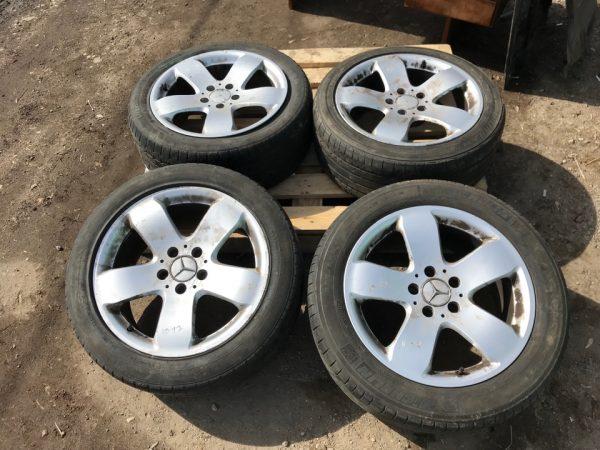 Литые диски Rucha R17 Mercedes