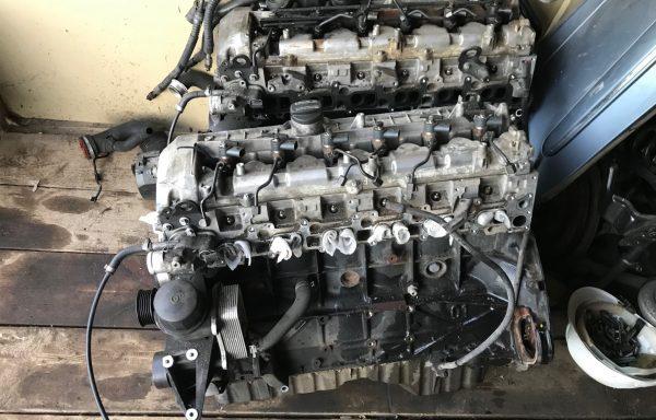Двигатель (мотор) 3.2 OM648 Mercedes-Benz W211 CDI