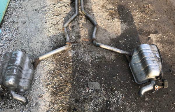 Глушитель Mercedes-Benz W211 CDI E270, E280, E320