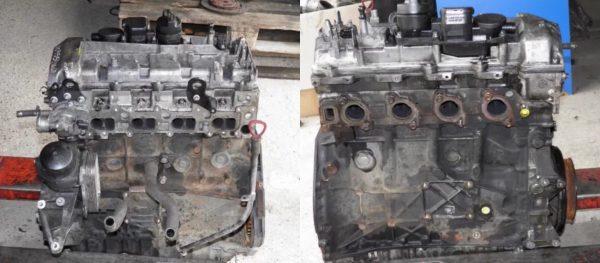 Мотор 646.821 для Mercedes W211 E220 CDI