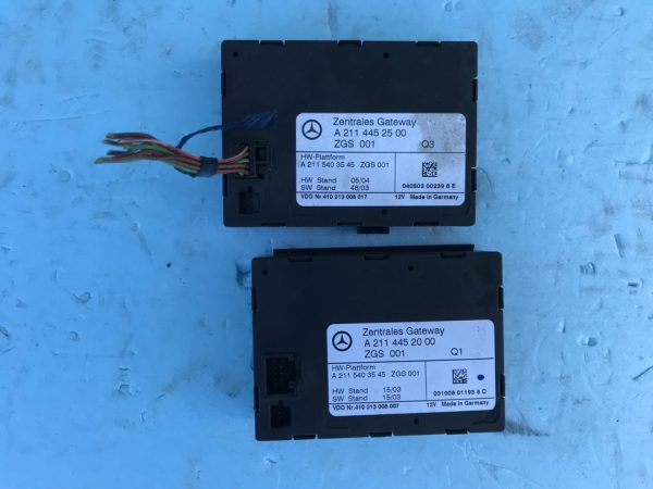 Zentrales Gateway ZGS ZGW Mercedes W211 A2115403545