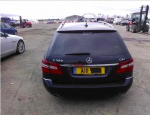 Mercedes E350 CDI W212 в разборе задняя часть кузова