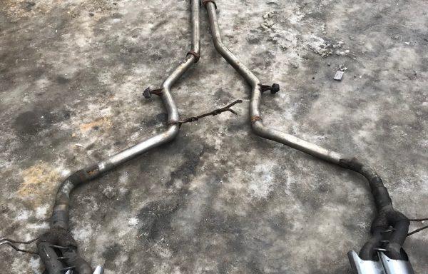Глушитель, катализатор Mercedes-Benz W211 CDI