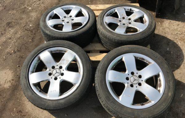 Колесные диски Rucha и шины Mercedes-Benz W211