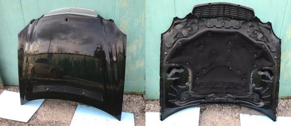 Капот чёрного цвета Мерседес W211