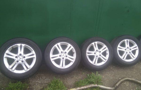 Колесные диски Almach и шины для Mercedes-Benz W211